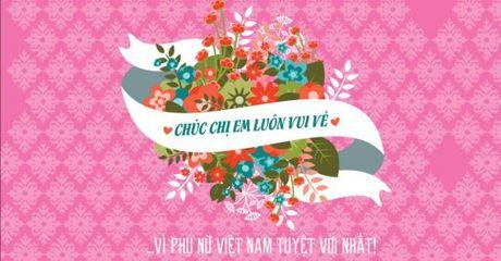 Loi chuc 20/10 cho nguoi yeu, tang me hay, y nghia, ngan gon - Anh 1