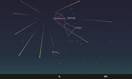 Xuat hien mua sao bang Orionid tuyet dep vao rang sang 20/10 - Anh 2