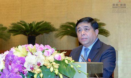 Bo truong Nguyen Chi Dung: 'Can xay dung Ke hoach tai co cau kinh te' - Anh 1