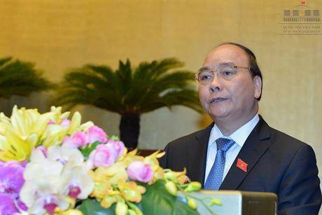 Thu tuong Nguyen Xuan Phuc: Nam 2017 phan dau tang truong GDP 6,7% - Anh 1