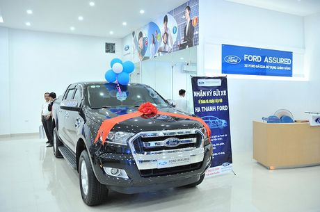Ford Viet Nam lien tuc mo rong mang luoi dich vu - Anh 2