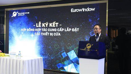 Eurowindow cung cap san pham cho 5 du an lon cua Sunshine Group - Anh 1