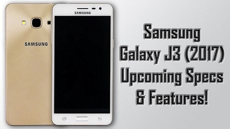 Galaxy J3 (2017) lo dien voi Snapdragon 430, 2GB RAM - Anh 1
