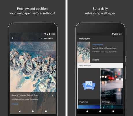 Google mang cong cu tai hinh nen Wallpapers cua Pixel len Play Store - Anh 2
