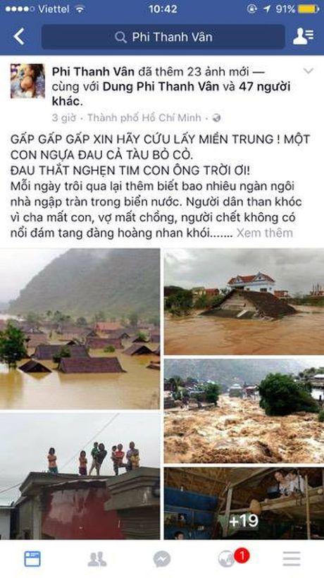 Vua dong hoc phi cho co be ngheo, Phi Thanh Van bo ra 88 trieu cuu tro mien Trung - Anh 1