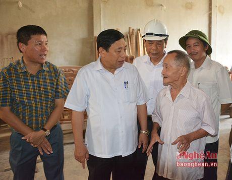 Chu tich UBND tinh kiem tra cong trinh, du an trong diem tai Thai Hoa - Anh 8
