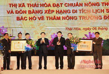Tran tro de Thi xa Thai Hoa xung tam cuc tang truong mien Tay - Anh 3