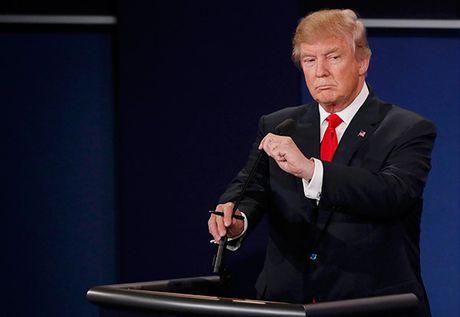 Trump tu choi tra loi ve viec cong nhan ket qua bau cu neu thua - Anh 5
