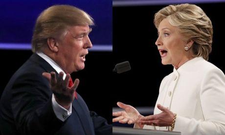 Cuoc tranh luan 'an mieng tra mieng' den tan giay cuoi Trump - Clinton - Anh 1