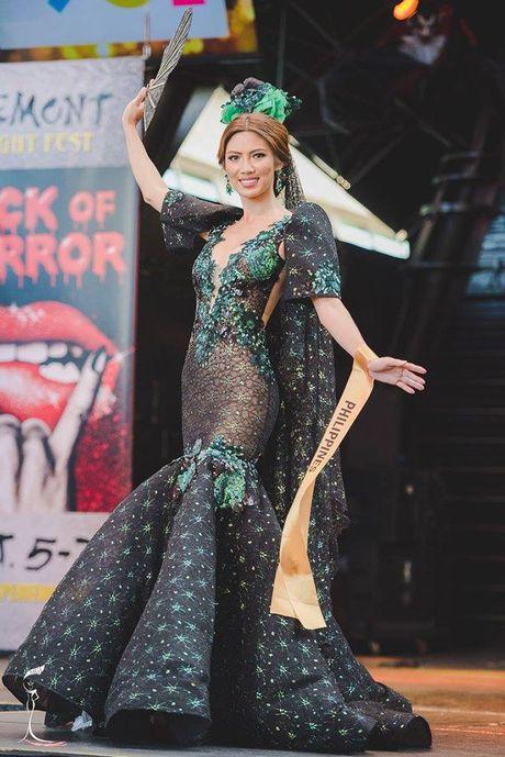 Nguyen Thi Loan xuat sac lot Top 3 trang phuc dan toc dep nhat Miss Grand International 2016 - Anh 8