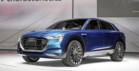 Audi trinh lang thuong hieu xe dien hoan toan moi - Anh 1