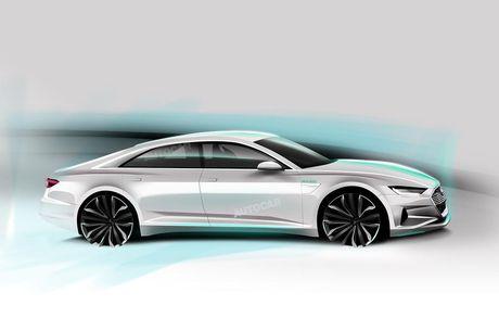 Audi trinh lang thuong hieu xe dien hoan toan moi - Anh 2