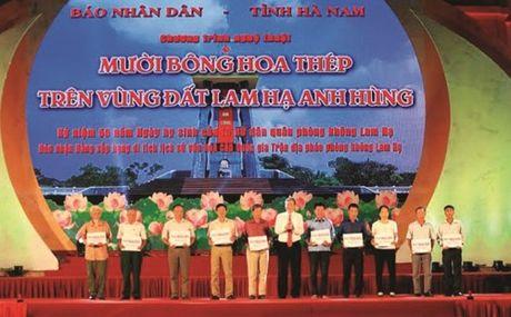 Vung dat Lam Ha, Ha Nam: Thien anh hung ca ngan nam sang mai - Anh 4