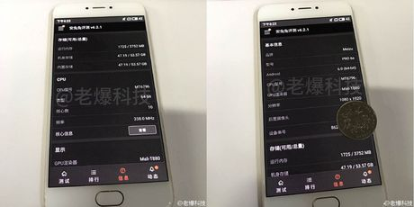 Lo dien hinh anh Meizu Pro 6s, cau hinh chip 10 loi - Anh 1