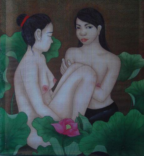 Tranh Bui Xuan Phai dau gia khoi diem 77.000 USD gay quy tu thien - Anh 6