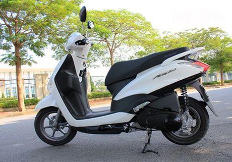 Loi bo con, xe ga cho chi em Yamaha Acruzo bi trieu hoi - Anh 1