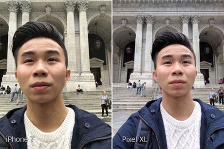 iPhone 7 va Google Pixel do camera - Anh 10