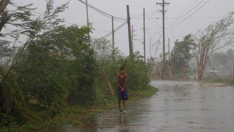 Sieu bao Haima quet qua Philippines, it nhat 7 nguoi chet - Anh 1