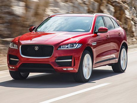 Jaguar F-Pace 'lo hen' o Trien lam o to quoc te VIMS 2016 - Anh 1