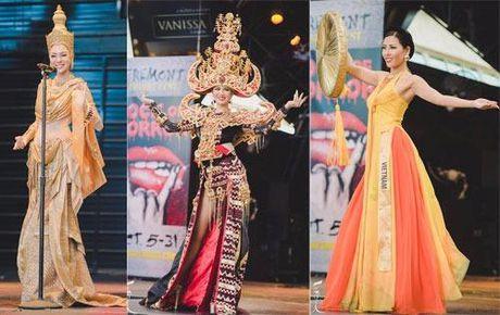 Nguyen Thi Loan vao top 3 Trang phuc Dan toc dep nhat - Anh 2
