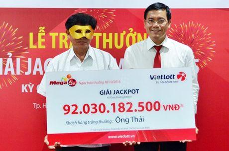 Doanh thu Vietlot tang 67% sau khi trao thuong 92 ty dong - Anh 1