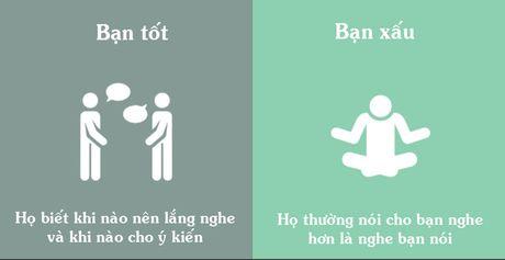 Su khac biet giua ban tot va nguoi gia tao - Anh 1