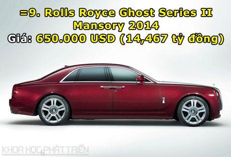 Top 10 sieu xe Rolls-Royce dat nhat trong lich su - Anh 10