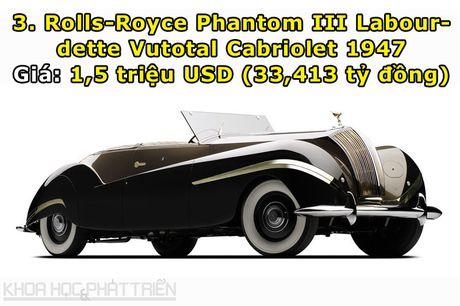 Top 10 sieu xe Rolls-Royce dat nhat trong lich su - Anh 3