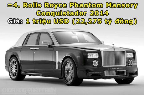 Top 10 sieu xe Rolls-Royce dat nhat trong lich su - Anh 5