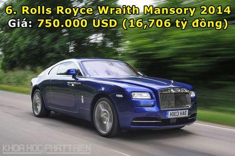 Top 10 sieu xe Rolls-Royce dat nhat trong lich su - Anh 6