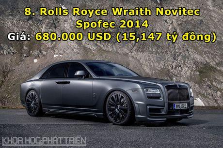 Top 10 sieu xe Rolls-Royce dat nhat trong lich su - Anh 8