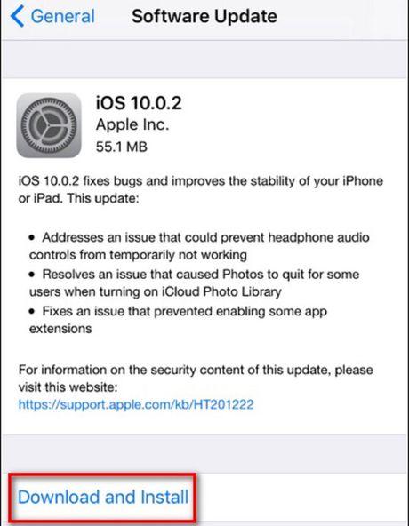 Huong dan nguoi dung iOS 10 beta cai dat phien ban on dinh hon - Anh 6