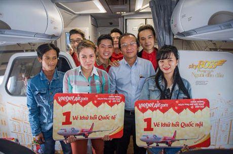 Phai dep 'nuc long' tren nhung chuyen bay Vietjet - Anh 3