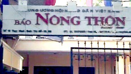 Thu hoi the nha bao cua phong vien bao Nong thon ngay nay - Anh 1