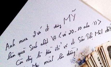 Ngay 20-10, chong 'manh tay' tang vo 2 ve di... Chuong My - Anh 6