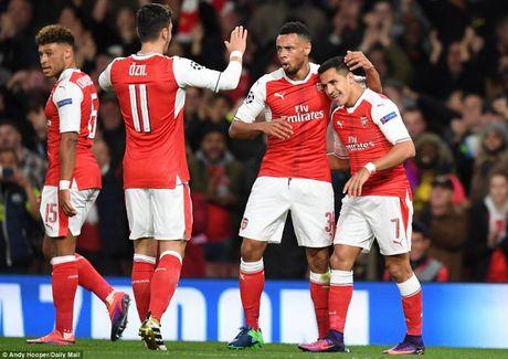 Ket qua bong da Champions League 20/10: Arsenal, Bayern, PSG 'dong ca' - Anh 1