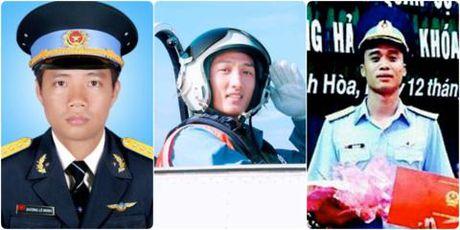 Truy thang quan ham cho 3 phi cong hy sinh khi bay huan luyen - Anh 1