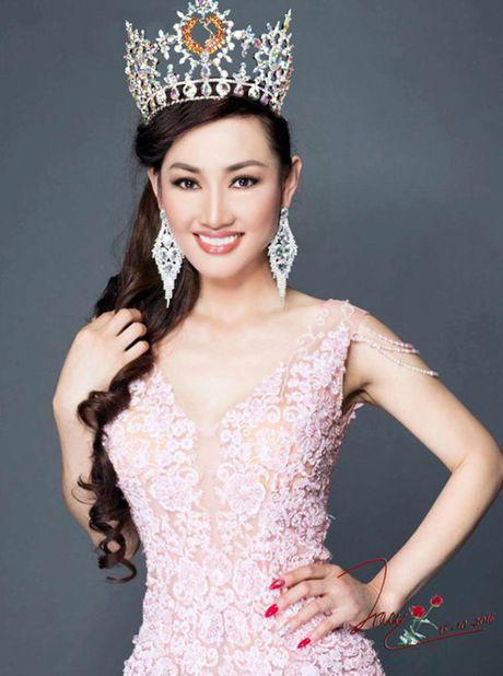 Tracy Hang Nguyen dai dien Viet Nam thi Mrs World 2016 - Anh 2