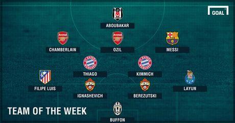 DHTB luot tran 3 vong bang Champions League: Vinh danh Messi va Oezil - Anh 13