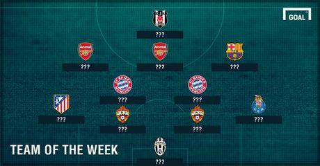 DHTB luot tran 3 vong bang Champions League: Vinh danh Messi va Oezil - Anh 1