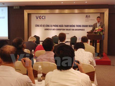 VCCI: Doanh nghiep SME cung hop tac phong ngua tham nhung - Anh 1