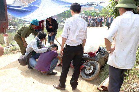 Khan truong khac phuc hau qua vu tai nan giao thong tai Quang Binh - Anh 1