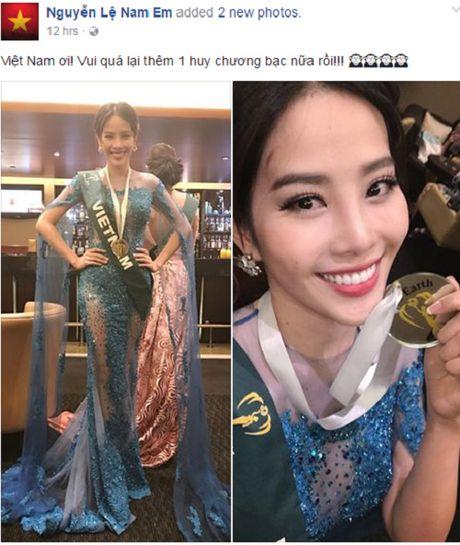 Nam Em thang tiep giai Bac trang phuc dep o Miss Earth - Anh 1