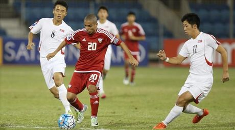 Thang dam U19 Trieu Tien, U19 UAE van phai chia tay giai U19 chau A - Anh 1