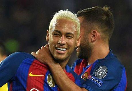 CHINH THUC: Neymar gia han hop dong voi Barcelona - Anh 1