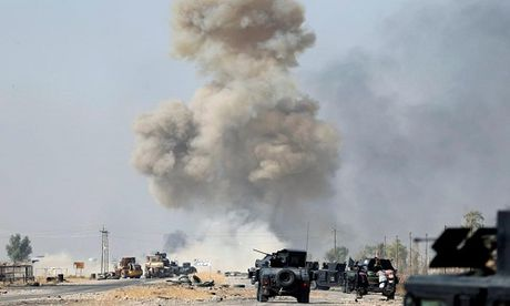 Linh My thiet mang gan chao lua Mosul - Anh 1