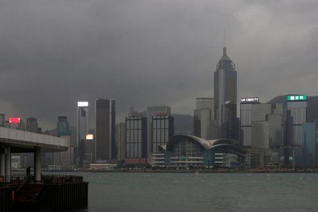 Loat anh Hong Kong truoc them sieu bao Haima - Anh 14