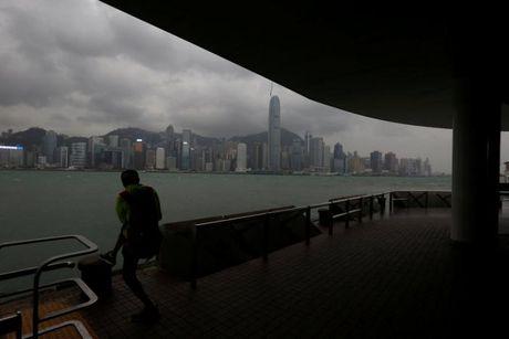 Loat anh Hong Kong truoc them sieu bao Haima - Anh 9