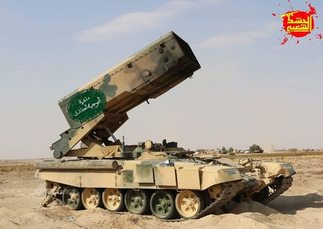 Phao phan luc TOS-1A oanh tac Mosul, quan IS 'het duong song' - Anh 3