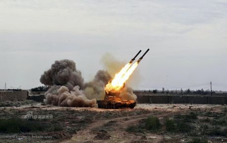 Phao phan luc TOS-1A oanh tac Mosul, quan IS 'het duong song' - Anh 8